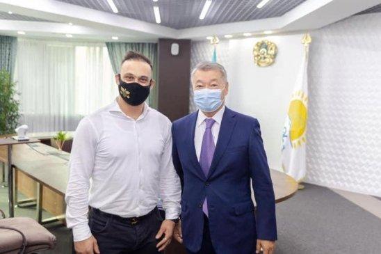 Илья Ильин ауыр атлетика мектебін ашпақ