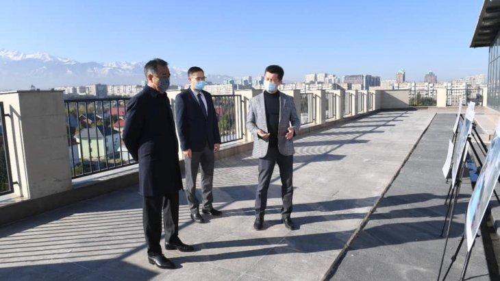 Сағынтаев MOST IT hub Almaty бизнес-инкубаторы мен акселераторының құрылыс барысымен танысты